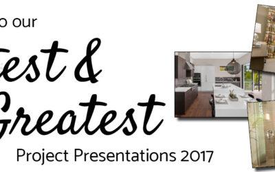 Six Walls Latest & Greatest Project Presentations