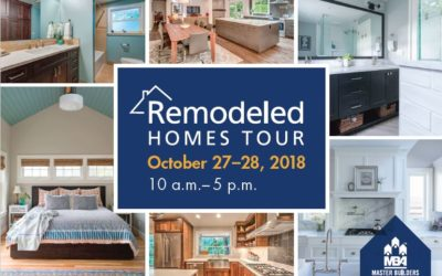 Visit two of our designs during the Remodeled Homes Tour this weekend!