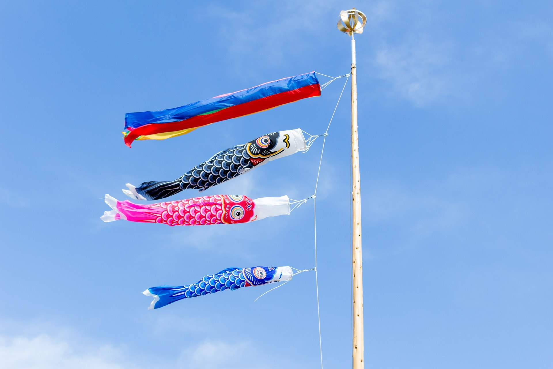 Children's day carp streamers