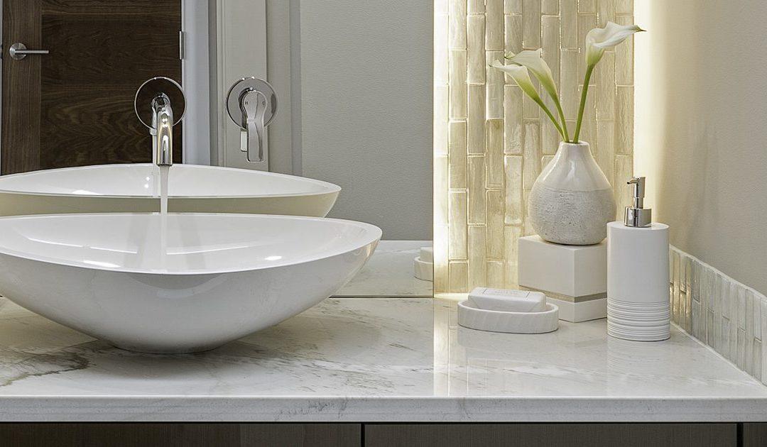 Modern Luxury Guest Bath